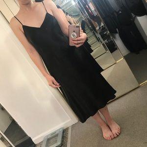 Vince Black Slip Dress